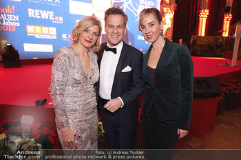 Woman of the year Gala - Rathaus Wien - Mi 27.11.2019 - Tarek LEITNER, Claudia LAHNSTEINER, Nadja BERNHARD20