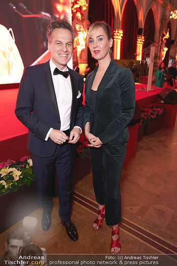 Woman of the year Gala - Rathaus Wien - Mi 27.11.2019 - Tarek LEITNER, Nadja BERNHARD21