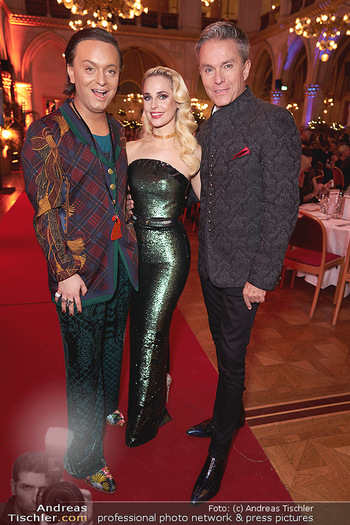 Woman of the year Gala - Rathaus Wien - Mi 27.11.2019 - Julian F.M. STOECKEL, Silvia SCHNEIDER, Alfons HAIDER30