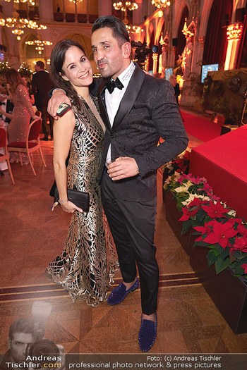 Woman of the year Gala - Rathaus Wien - Mi 27.11.2019 - Romina COLERUS, Fadi MERZA31
