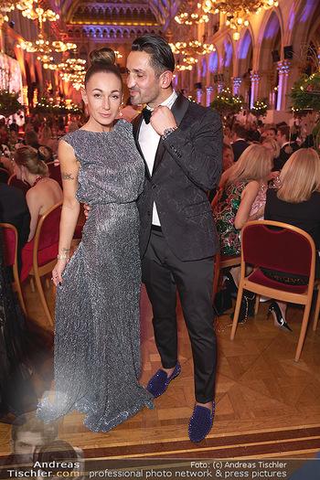 Woman of the year Gala - Rathaus Wien - Mi 27.11.2019 - Fadi und Ines MERZA32