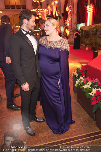 Woman of the year Gala - Rathaus Wien - Mi 27.11.2019 - Hayley HASSELHOFF, Dominic Charles FORELL37