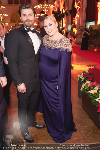 Woman of the year Gala - Rathaus Wien - Mi 27.11.2019 - Hayley HASSELHOFF, Dominic Charles FORELL38
