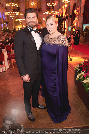 Woman of the year Gala - Rathaus Wien - Mi 27.11.2019 - Hayley HASSELHOFF, Dominic Charles FORELL41