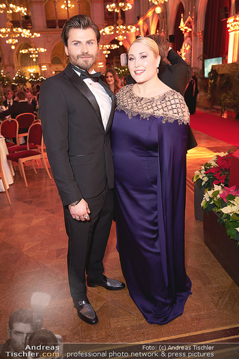 Woman of the year Gala - Rathaus Wien - Mi 27.11.2019 - Hayley HASSELHOFF, Dominic Charles FORELL42