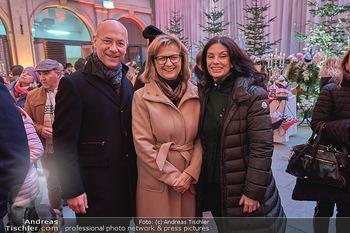 Advent in der Stallburg - Hofreitschule Stallburg, Wien - So 01.12.2019 - Anton Toni FABER, Maria PATEK, Sonja KLIMA19