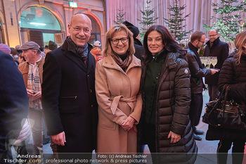 Advent in der Stallburg - Hofreitschule Stallburg, Wien - So 01.12.2019 - Anton Toni FABER, Maria PATEK, Sonja KLIMA20