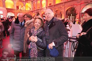 Advent in der Stallburg - Hofreitschule Stallburg, Wien - So 01.12.2019 - Karl und Hermine FÜRNKRANZ22