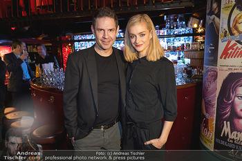 Vorpremiere Kristina Sprenger - Eden Bar, Wien - Di 03.12.2019 - Manuel WITTING, Pia STRAUSS22