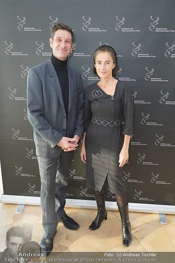 PK Filmpreis Nominierte - Ringturm, Wien - Mi 04.12.2019 - Mercedes ECHERER, Andreas KIENDL2