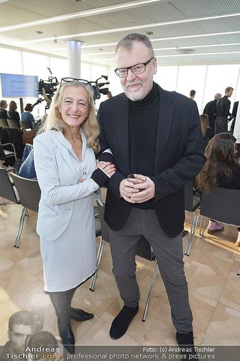 PK Filmpreis Nominierte - Ringturm, Wien - Mi 04.12.2019 - Kathrin ZECHNER, Stefan RUZOWITZKY13