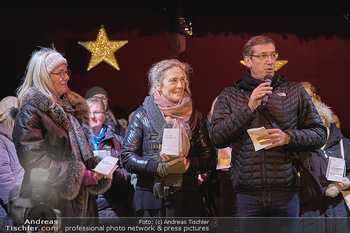 MOMO Lichtaktion - Adventmarkt Freyung Wien - Do 05.12.2019 - 4
