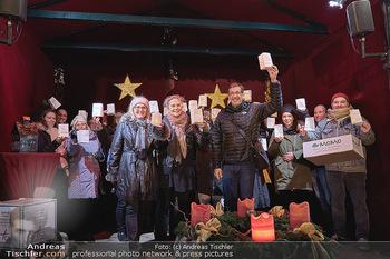 MOMO Lichtaktion - Adventmarkt Freyung Wien - Do 05.12.2019 - 5