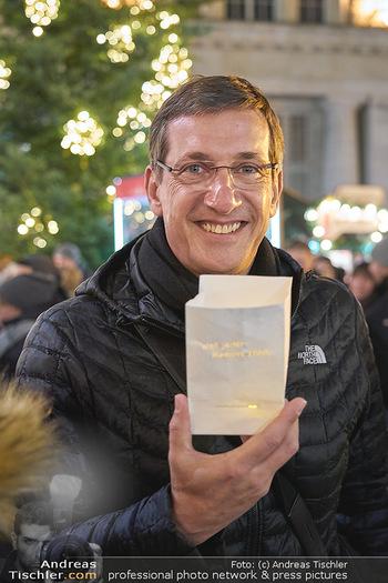 MOMO Lichtaktion - Adventmarkt Freyung Wien - Do 05.12.2019 - 9