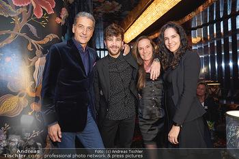 Club-Bar Opening - Sechser, Wien - Do 05.12.2019 - Alexander SCHRACK mit Vater Harald NEUMANN, Mutter Tanja SCHRACK1