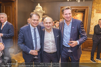 X-Mas for friends bei Ali Rahimi - Palais Szechenyi - Mi 11.12.2019 - Gerhard DREXEL, Ali RAHIMI, Michael STIX1