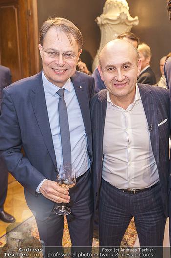 X-Mas for friends bei Ali Rahimi - Palais Szechenyi - Mi 11.12.2019 - Gerhard DREXEL, Ali RAHIMI5