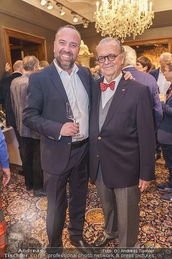 X-Mas for friends bei Ali Rahimi - Palais Szechenyi - Mi 11.12.2019 - Gerhard KRACHER, Hans-Peter SPAK13