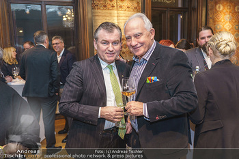 X-Mas for friends bei Ali Rahimi - Palais Szechenyi - Mi 11.12.2019 - Toni MÖRWALD, Rudi SEMRAD23