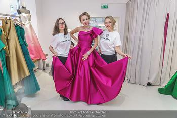 Ekaterina Mucha Opernballkleid Anprobe - Runway Fashion, Wien - Fr 13.12.2019 - Ekaterina MUCHA im Opernballkleid 2020 und den Designerinnen ´i1