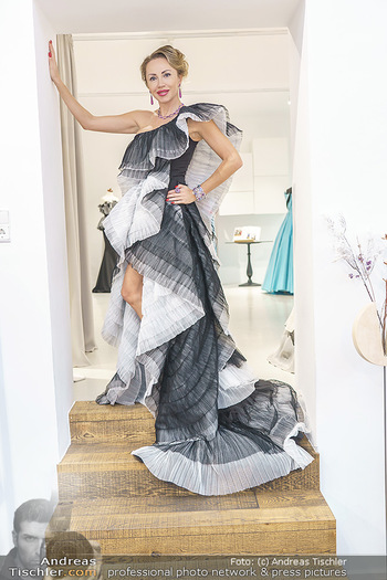Ekaterina Mucha Opernballkleid Anprobe - Runway Fashion, Wien - Fr 13.12.2019 - Ekaterina MUCHA9