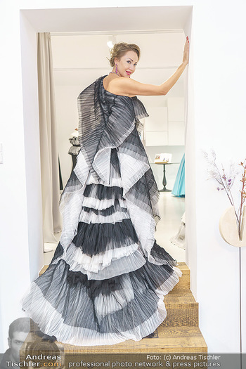 Ekaterina Mucha Opernballkleid Anprobe - Runway Fashion, Wien - Fr 13.12.2019 - Ekaterina MUCHA12
