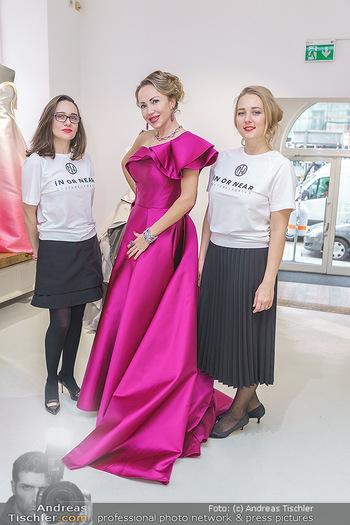 Ekaterina Mucha Opernballkleid Anprobe - Runway Fashion, Wien - Fr 13.12.2019 - Ekaterina MUCHA im Opernballkleid 2020 und den Designerinnen ´i51
