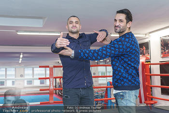 Interviewtermin Marcos Nader - Bounce the fitness zone - Di 17.12.2019 - Marcos NADER, Fadi MERZA1