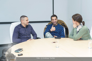 Interviewtermin Marcos Nader - Bounce the fitness zone - Di 17.12.2019 - Marcos NADER, Fadi MERZA, Romina COLERUS10