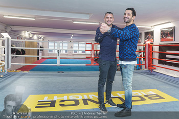 Interviewtermin Marcos Nader - Bounce the fitness zone - Di 17.12.2019 - Marcos NADER, Fadi MERZA12