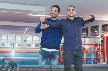 Interviewtermin Marcos Nader - Bounce the fitness zone - Di 17.12.2019 - Marcos NADER, Fadi MERZA13