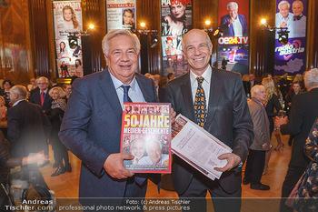 50 Jahre Fellner - Park Hyatt, Wien - Di 17.12.2019 - Wolfgang FELLNER mit Bruder Helmuth1