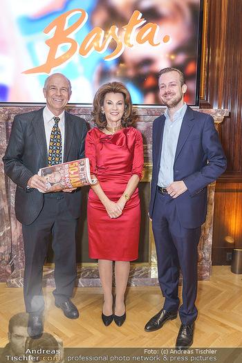 50 Jahre Fellner - Park Hyatt, Wien - Di 17.12.2019 - Brigitte BIERLEIN, Helmuth FELLNER, Niki FELLNER9
