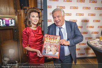 50 Jahre Fellner - Park Hyatt, Wien - Di 17.12.2019 - Brigitte BIERLEIN, Wolfgang FELLNER37
