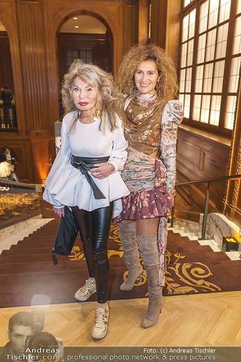 50 Jahre Fellner - Park Hyatt, Wien - Di 17.12.2019 - Jeanine SCHILLER mit Tochter Simone Simona FELLNER42