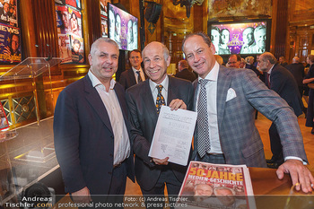 50 Jahre Fellner - Park Hyatt, Wien - Di 17.12.2019 - Peter BOSEK, Helmuth SORAVIA, Hanno SORAVIA50