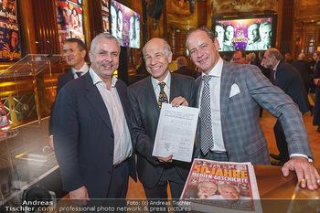 50 Jahre Fellner - Park Hyatt, Wien - Di 17.12.2019 - Peter BOSEK, Helmuth SORAVIA, Hanno SORAVIA51