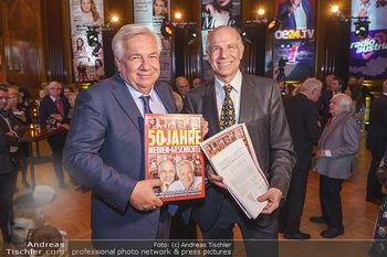 50 Jahre Fellner - Park Hyatt, Wien - Di 17.12.2019 - Wolfgang FELLNER mit Bruder Helmuth57