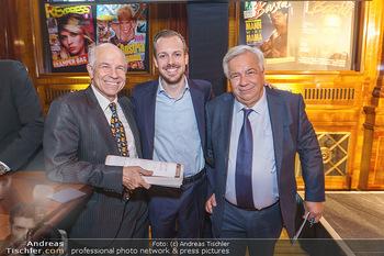 50 Jahre Fellner - Park Hyatt, Wien - Di 17.12.2019 - Wolfgang FELLNER mit Sohn Niki und Bruder Helmuth84