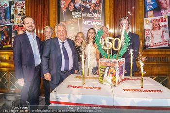 50 Jahre Fellner - Park Hyatt, Wien - Di 17.12.2019 - Familie Wolfgang FELLNER mit Bruder Helmuth und Sohn Niki und To96
