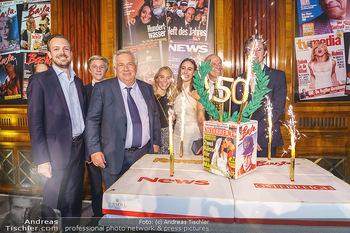 50 Jahre Fellner - Park Hyatt, Wien - Di 17.12.2019 - Familie Wolfgang FELLNER mit Bruder Helmuth und Sohn Niki und To97
