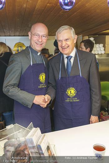 Promis beim Punsch Ausschenken - Am Graben und Freyung, Wien - Fr 20.12.2019 - Thomas SCHÄFER-ELMAYER, Toni FABER5