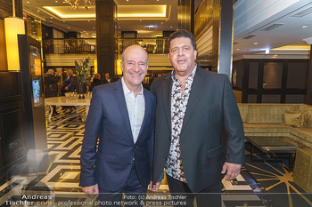 Jeannine Schiller Neujahrscocktail - Hilton Hotel Vienna, Wien - Di 07.01.2020 - Andy LEE LANG, Tony VEGAS5