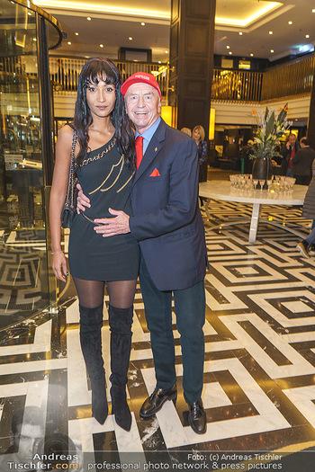 Jeannine Schiller Neujahrscocktail - Hilton Hotel Vienna, Wien - Di 07.01.2020 - Heribert KASPER, Monka ZECHNER7