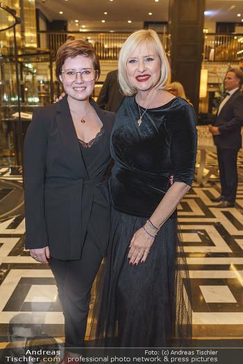Jeannine Schiller Neujahrscocktail - Hilton Hotel Vienna, Wien - Di 07.01.2020 - Lizzy Elisabeth ENGSTLER mit Tochter Amelie12