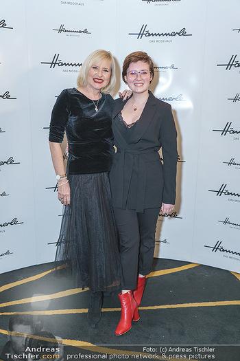 Jeannine Schiller Neujahrscocktail - Hilton Hotel Vienna, Wien - Di 07.01.2020 - Lizzy Elisabeth ENGSTLER mit Tochter Amelie13