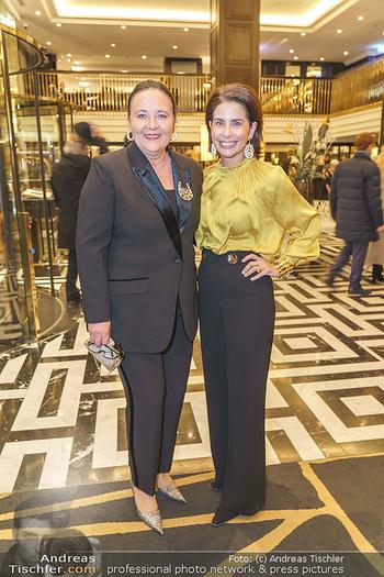 Jeannine Schiller Neujahrscocktail - Hilton Hotel Vienna, Wien - Di 07.01.2020 - Sonja KATO-MAILATH-POKORNY, Doris KIEFHABER19
