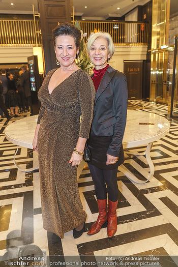 Jeannine Schiller Neujahrscocktail - Hilton Hotel Vienna, Wien - Di 07.01.2020 - Andrea HÄNDLER, Eva BILLESICH24