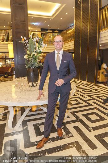 Jeannine Schiller Neujahrscocktail - Hilton Hotel Vienna, Wien - Di 07.01.2020 - Matthias WELZEL (Direktor Manager Hotel Hilton Plaza)39