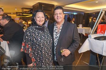 Jeannine Schiller Neujahrscocktail - Hilton Hotel Vienna, Wien - Di 07.01.2020 - Tony VEGAS, Tini KAINRATH43
